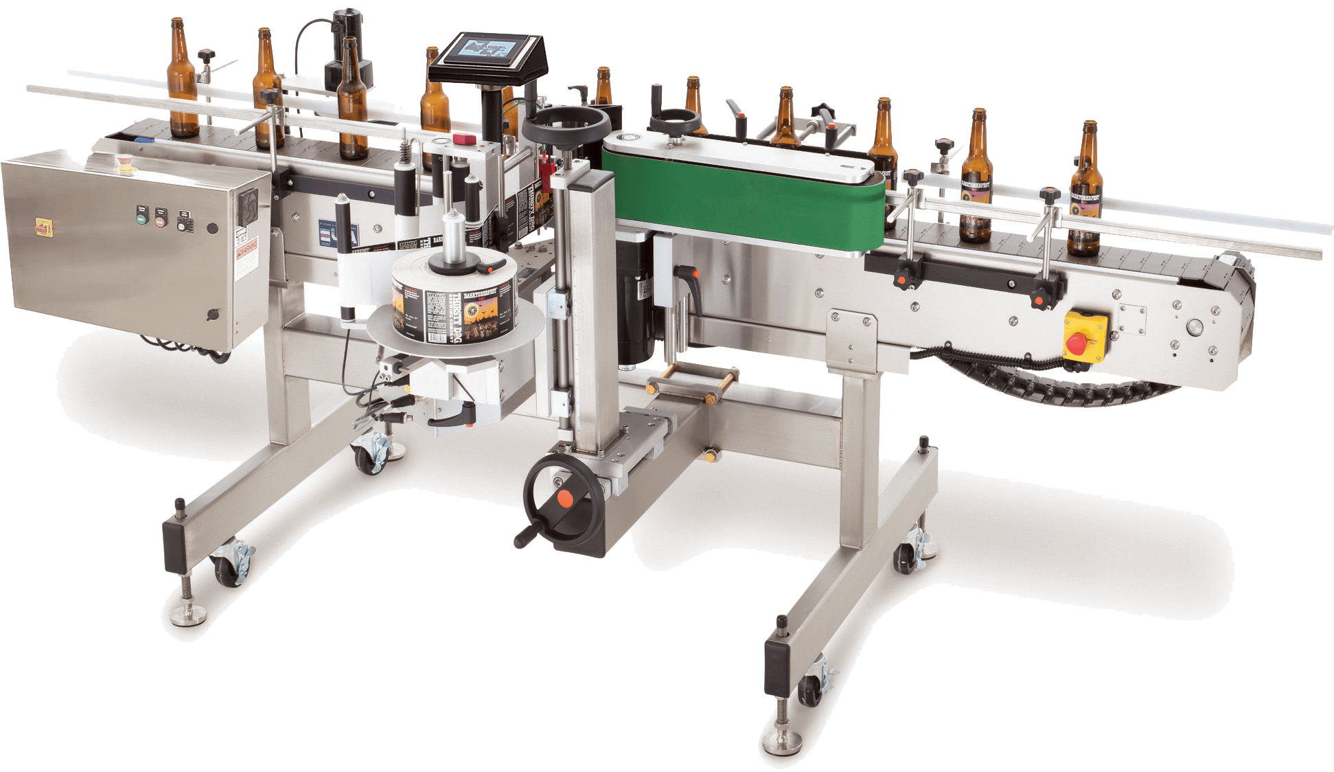 Fluid Solutions Series 3 Wrap Labeler