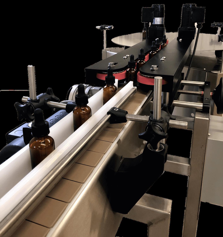 Dual Belt Transfer for Bottom Printing