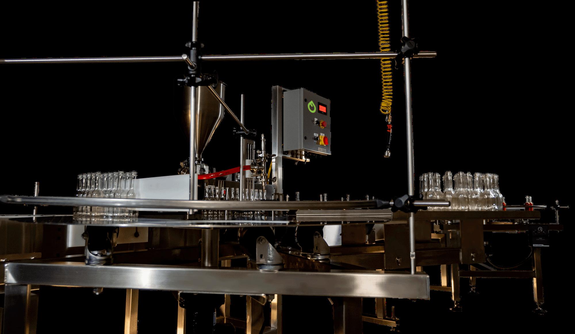 Tabletop Piston Liquid Filling Line