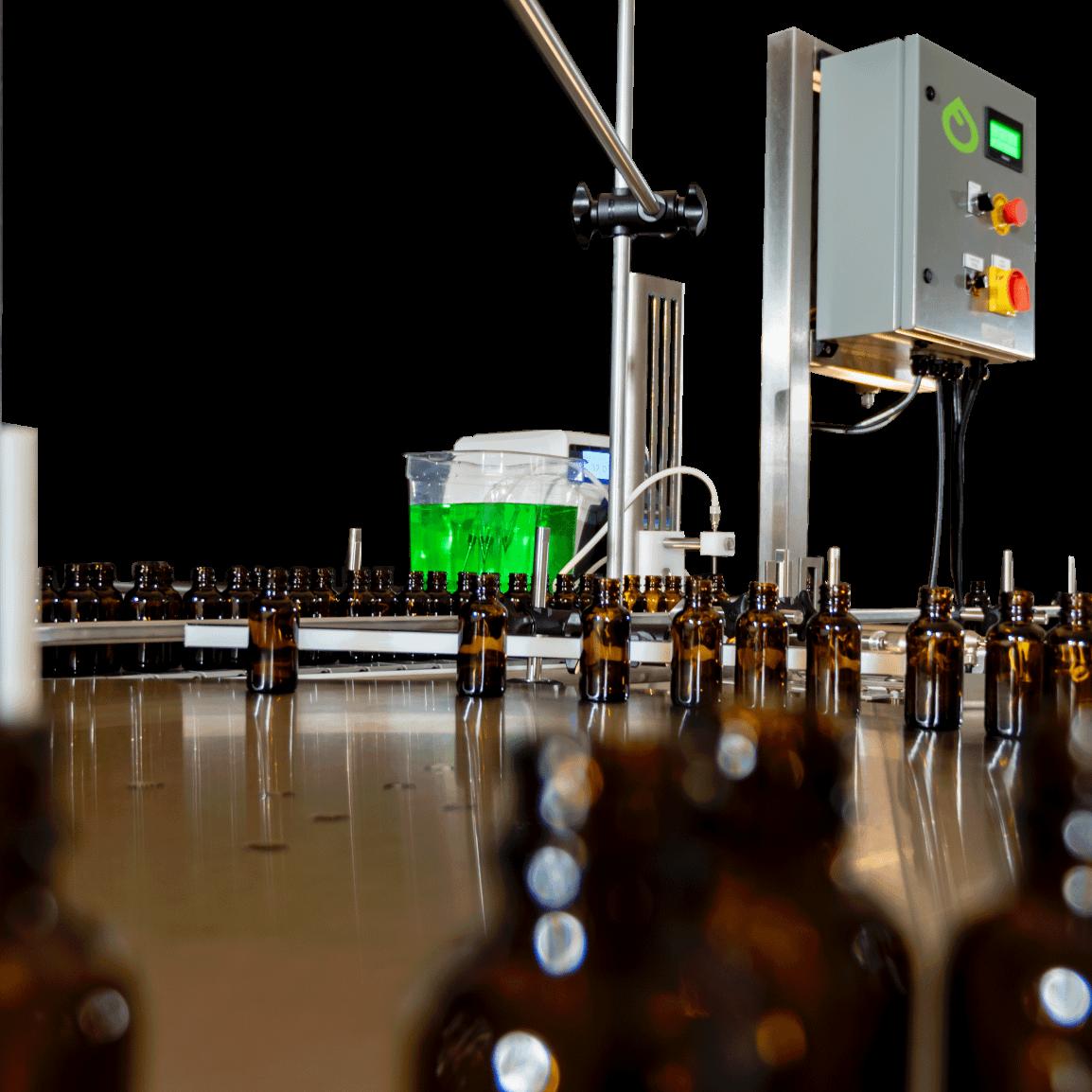 Tabletop Peristaltic Liquid Filling Line