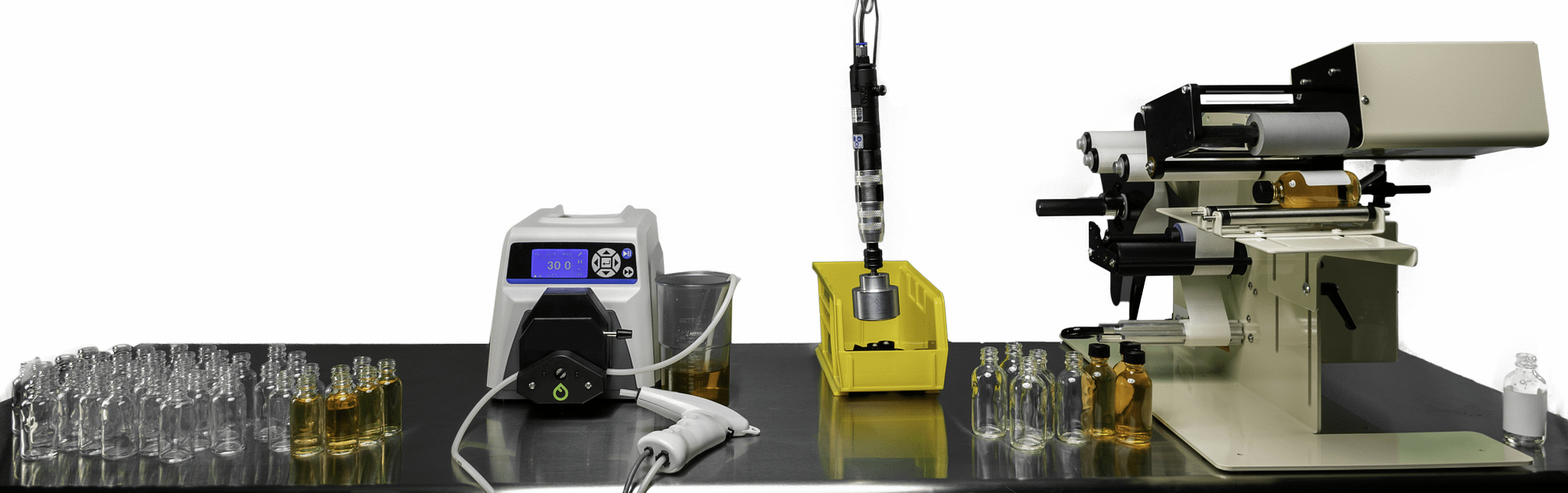 Fluid Solutions Series 1 Peristaltic Filler Line