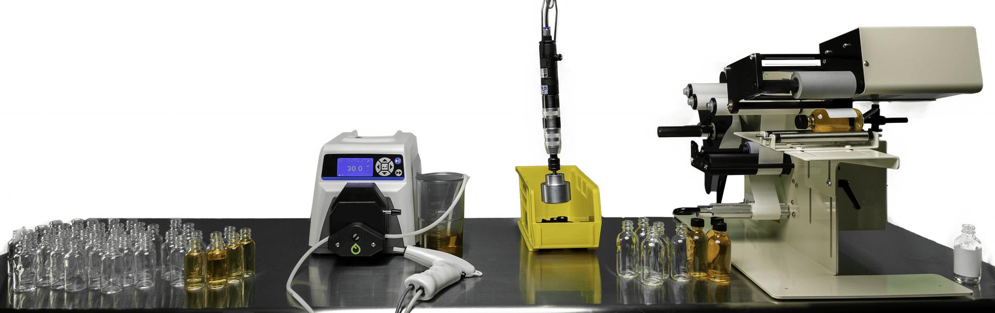 Fluid Solutions Series 1 Peristaltic Filler Line