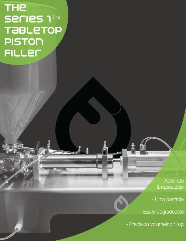 Series 1 Tabletop Piston Filler - Tech Sheet
