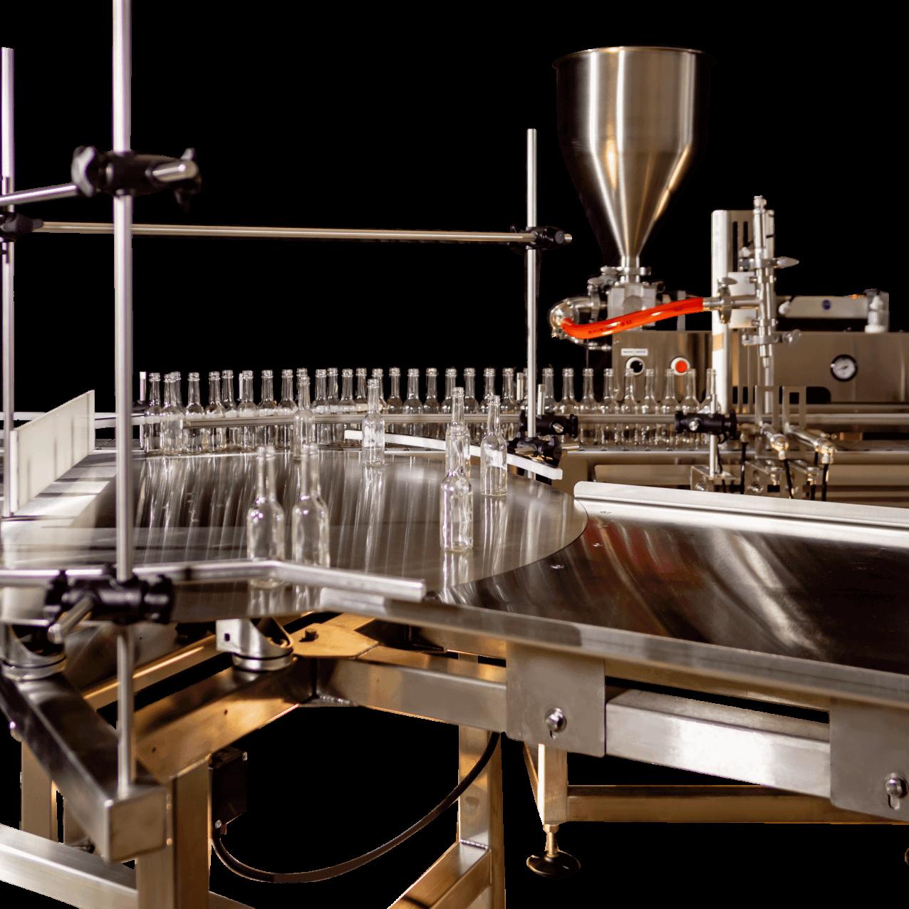 Liquid Filling Turntable Loading Table