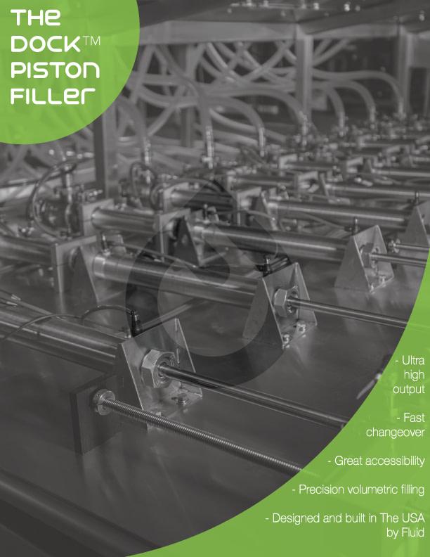 Fluid Solutions Dockable Piston Filler Tech Sheet