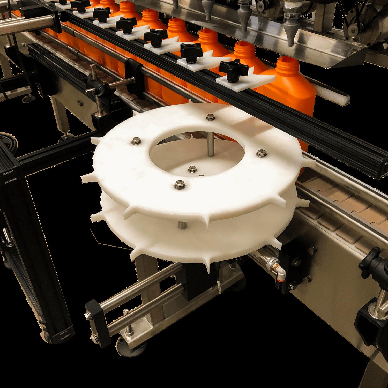 Fluid Solutions 16 Head Positive Displacement Automatic Pump Filler